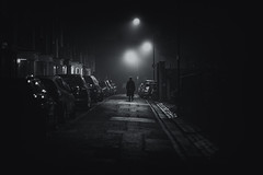 The Exorcist (Andrew G Robertson) Tags: fog mist london chiswick night canon 85mm f12 5d mkiv mk4 hammersmith exorcist
