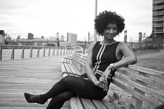 I give to you, The Beautiful, Intelligent, Well balanced, talented, charismatic, Successful, Unique, and Did I mention Beautiful ? Tennesha Wood ! (bw) (Brotha Chris) Tags: tenneshawood tennesha wood blacklove drlpodcast podcast drl dating relationships love nyc long island city lic portrait portraiture portraits melanin nubian canon outdoor outdoors 24mm 50mm beauty beautiful angles pretty explore explored advice tips talk discussion gorgeous lovely