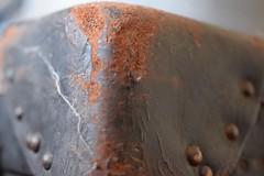 Corner macro monday (jan.ashdown) Tags: closeup edge worn leather macro macromondays corner