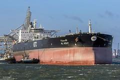 Al Kout (Malte Kopfer Photography) Tags: alkout rotterdam maasvlakte kotc kuwaitoiltankercompany tanker tankschiff crudeoil crudeoiltanker rohöltanker vlcc verylargecrudecarrier beerkanaal