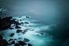 Susurro (Whisper) (Dibus y Deabus) Tags: gijon asturias españa spain mar sea roca rock largaexposicion longexposure canon 6d cerrodesantacatalina paisaje landscape
