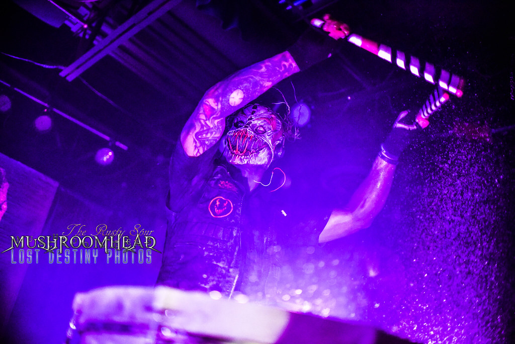 Mushroomhead (Lost Destiny Photos) Tags metal rock scream shread guitar drums water bass & The Worldu0027s newest photos of blacklight and iso - Flickr Hive Mind