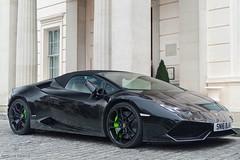 Roar (Beyond Speed) Tags: lamborghini huracan spyder supercar supercars cars car carspotting automotive automobili nikon v10 black london knightsbridge worldcars