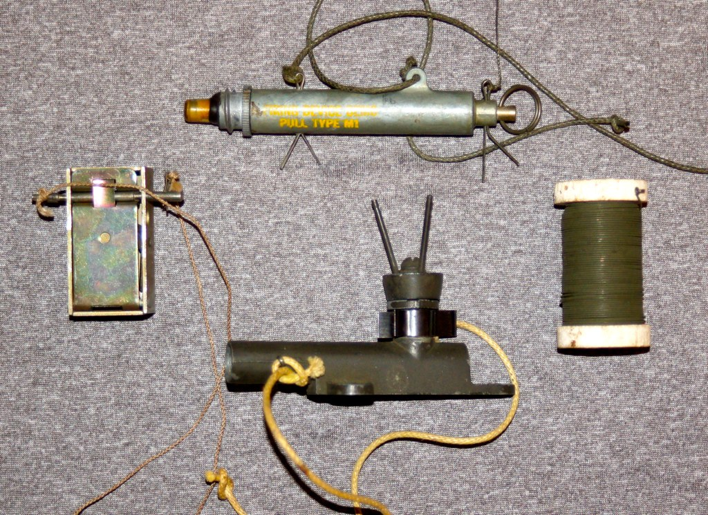 WW-2 US Booby Trap Devices (Pacific Kilroy) Tags: army us m1 wwii ...