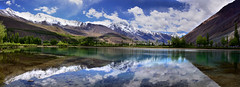 Phandar Valley - Wonder Valley (NotMicroButSoft (Fallen in Love with Ghizar, GB)) Tags: reflection nature water ghizar phandar gilgitbaltistan rflectoin
