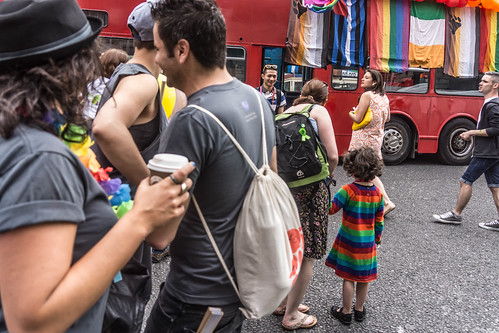 DUBLIN 2015 LGBTQ PRIDE FESTIVAL [PREPARING FOR THE PARADE] REF-106226