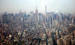 View  from One World Observatory (apardavila) Tags: nyc newyorkcity skyline skyscraper manhattan empirestatebuilding seeforever oneworldtradecenter oneworldobservatory