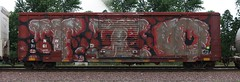 TIO (quiet-silence) Tags: railroad art train graffiti railcar boxcar graff freight tio wholecar fr8 cnw cnw716112