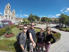 Photo de 14h - Plaza de Armas (Huaraz , Pérou) - 26.06.2014