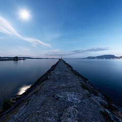 (prenzlauerberg) Tags: lake nature night landscape nikon lumire lac paysage nuit neuchatel 2015 lacdeneuchtel nikoncapturenx nikond610
