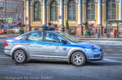 St. Petersburg (Police Car) (Kev Walker ¦ 8 Million Views..Thank You) Tags: stpetersburg russia hdr 2015 kevinwalker
