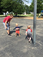 "Luke, Zack, and Paul at the Park • <a style=""font-size:0.8em;"" href=""http://www.flickr.com/photos/109120354@N07/19447220962/"" target=""_blank"">View on Flickr</a>"