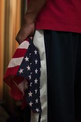 365x4.185: Obviously. (malik ml williams) Tags: red usa white selfportrait nikon flag 4thofjuly independenceday redwhiteandblue starsandstripes strobe oldglory sb800 andblue 365days pocketwizard strobist 365x4