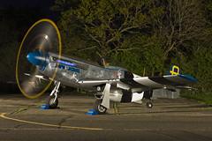 North American P-51D Mustang - 55 (NickJ 1972) Tags: night shoot photoshoot aviation nightshoot mustang p51 photocall northamerican 2015 northweald hangar11 jumpinjacques 472035 gsijj