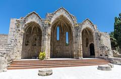 Rhodes - The Church of the Virgin of the Burgh (RomanK.) Tags: church greece rhodes