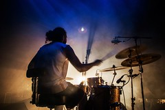 rythm. (asier.quintana) Tags: lighting light boy musician music drums concert nikon live country concierto culture musica bateria basque directo d60 folclore erromeria amorebieta