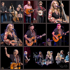 Alison Krauss and Union Station and Willie Nelson (classymis) Tags: santabarbara concert guitar stage unionstation performers willienelson alisonkrauss santabarbarabowl classymis