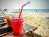 Water ice (Jim Makos) Tags: sea summer hot beach outdoors strawberry drink freezing greece gr refreshing thirsty waterice chalkidiki halkidiki makedoniathraki