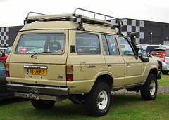 1983 Toyota Land Cruiser Customwagon 4.0 D (rvandermaar) Tags: d toyota land 40 1983 landcruiser cruiser toyotalandcruiser hj60 j60 customwagon sidecode7 15jkf5
