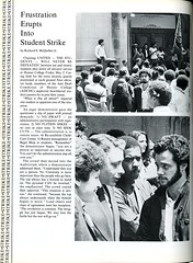 Student Strike (Hunter College Archives) Tags: students events protest yearbook social event hunter seek 1980 draft activities huntercollege studentstrike socialevents studentactivities tuitionhikes wistarion studentlifestyles thewistarion antidraftcommittee