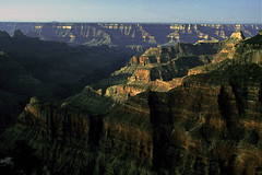Early Morning View from Bright Angel Point Trail (woodchuckiam) Tags: landscape grandcanyon scenic canyon trail northrim northkaibabtrail brightangelcanyon brightangelcreek brightangelpointtrail woodchuckiam