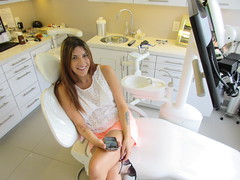 Raymi - Lauren White at Toronto Dentist (Roberrific) Tags: dentalhygiene raymitheminx dentalcheckup torontodentist drarcher regularvisittodentist