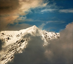 Winter morning (Katarina 2353) Tags: winter landscape italy courmayeur katarina2353 katarinastefanovic