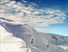 Blue sky (Katarina 2353) Tags: winter alps switzerland katarina2353 katarinastefanovic