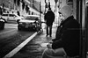 Rome # 3 (davide978) Tags: davide978 mg7306 roma rome street strada people man povertà poor biancoenero bianco nero black blackandwhite 50 canonef50mmf14usm bokeh vignetting ©davide978photography © photography