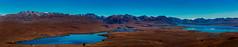 Lake Alexandrina and Lake Tekapo Panorama (Jos Buurmans) Tags: aorakinationalpark canterbury lake lakealexandrina laketekapo landscape mackenzie mountcooknationalpark mountjohn mountain mountainlandscape mountainrange mountains nature newzealand southisland mountainscape nz