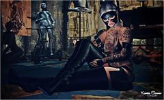 Look # 1001 Darkling (Kamila Stoanes) Tags: hair headmesh catwa bensbeauty applier eyes 7ds lotus promagic outfit dark mask poses event bodyfy kinky