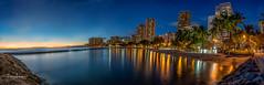 Sunset @ Waikiki Beach Jan 2017 (JUNEAU BISCUITS) Tags: hawaii waikiki waikikibeach beach sunset longexposure leefilters oahu honolulu hotel thegoldenhour nikond810 nikon