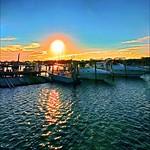 Magic Of Sunset Over Long Island Marina - IMRAN™ (Explored!)