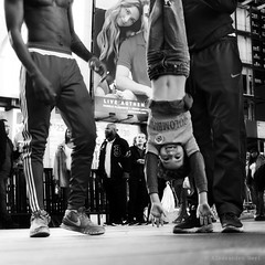 New York (ale neri) Tags: street bw portrait aleneri people nyc ny newyork timesquare manhattan streetphotography blackandwhite alessandroneri