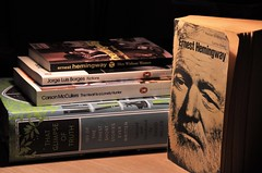 hemingway found (33/365) (werewegian) Tags: hemingway bio carlos baker borges mccullers short stories books werewegian 365the2017edition 3652017 day33365 2feb17 feb17