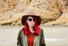Jessica (LauraJSwindle) Tags: nikond7100 outdoors 2016 facialexpressions woods sirfrancisdrakebeach portriat hair sunglasses hat sand california norcal person people wantagh ny usa girl reds rocks sandybeach spontaneousportrait woman sister northernca northerncalifornia califronia
