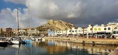 Alicante (Meino NL) Tags: benacantil kasteelvansantabárbara port puertoalicante alicante costablanca provincievalencia españa spain spanje