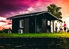 Candy Cabin (Matthew Collazo) Tags: sunset colors purple beautiful painting evening florida fortlauderdale canon lightroom canon50mm epic sky clouds tropical palmtree colorful ocean canon60d photography candyskies nature travel landscapephotography scenic beauty explore