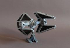 Sienar Tie Interceptor - Main (Sydag) Tags: starfighter lego moc space scifi starwars sienar tiefighter