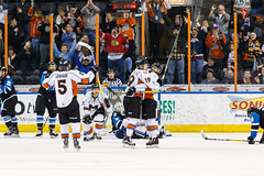 "Missouri Mavericks vs. Wichita Thunder, January 6, 2017, Silverstein Eye Centers Arena, Independence, Missouri.  Photo: John Howe / Howe Creative Photography • <a style=""font-size:0.8em;"" href=""http://www.flickr.com/photos/134016632@N02/32191514046/"" target=""_blank"">View on Flickr</a>"