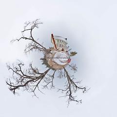 Planet ... Glen Haven (Ken Scott) Tags: glenhaven thecannery sleepingbearinn baretrees littleplanet panoramawrap leelanau michigan usa 2017 january winter 45thparallel hdr kenscott kenscottphotography kenscottphotographycom freshwater greatlakes lakemichigan sbdnl sleepingbeardunenationallakeshore voted mostbeautifulplaceinamerica