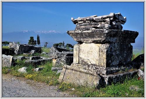 Grabmal in Pamukkale - Hierapolis