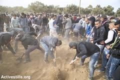 Funeral of Yaqub Musa Abu al-Qian, Negev, Israel, 24.01.2017 (Activestills) Tags: ummalhiran negev naqab death shahid martyr funeral israel policeviolence unrecognisedvillage bedouins topimages kerenmanor