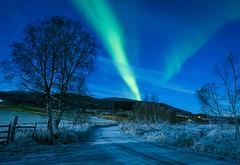 Aurora in Straumsbotn II (Reidar Trekkvold) Tags: kvæfjord straumsbotn vinter winter landscape natur nature troms norway natt night aurora nothern light snow snø is ice borealis fujifilm xt2 xf1024 ois