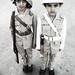 Old Policeman & Fireman Uniform