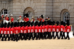 Welsh Guards, Trooping the Colour 2015, The Colonel's Review (timothyhart) Tags: wales charles horseguards queenelizabethii 2015 troopingthecolour queensbirthdayparade householddivision 1stbattalionwelshguards hrhprinceofwales