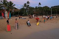 06012015_034_ (ALOHA de HAWAII) Tags: hawaii oahu bodysurfer waikikisunset