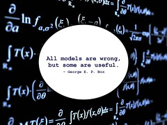 All models are wrong (ryan2point0) Tags: education modeling box quote models science wrong math mathematics calculus modelling maths useful