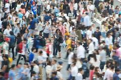 Tokyo Shibuya (riverman14) Tags: city urban tokyo crossing shibuya pedestrian crowds density