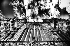 The front door to heaven (CJS*64) Tags: york bw monochrome up mono blackwhite nikon heaven yorkshire nikkor yorkminster northyorkshire cjs whiteblack nikkorlens nikond7000 18mm105mmlens craigsunter cjs64